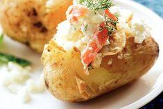 Basisrecept gepofte aardappels met...