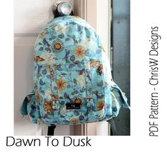 Dawn To Dusk Backpack Pattern pattern on Craftsy.com