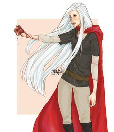 Manon Blackbeak. Wing Leader.