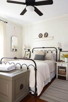 15 camas de metal que te encantarán! | Decoración