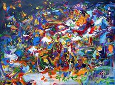 """Saatchi Art Artist Igor Eugen Prokop; Painting, """"CAT OF SCHRODINGER"""" #art"""