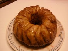 My try at the biscuit monkey bread recipe