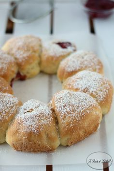 Corona di pan brioche dolce
