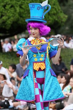 Happiness is Here, parade costume, tea party, wonderland