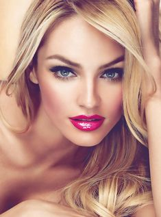 Striking makeup. Saturated. | Candice Swanepoel