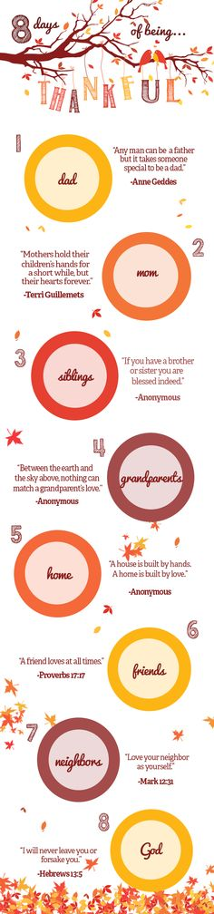 8 Thankful Quotes for Family- to inspire you to show your thanks to those who mean the most to you :)