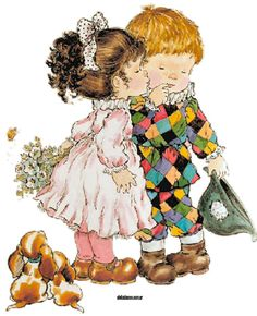 baby te quiero Sarah Kay Imagenes, Mary May, Pierrot Clown, Image Deco, Vintage Drawing, Sweet Pic, Holly Hobbie, Australian Artists, Cute Illustration