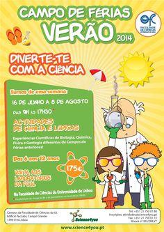 Campos de Férias - Verão 2014