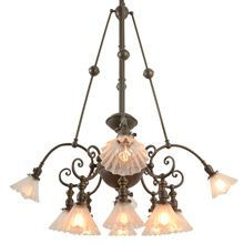 Rare and Remarkable 12-Light Commercial Chandelier C1905