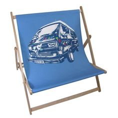 personalised double deckchair