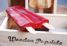 Wooden Popsicle, i ghiaccioli di legno