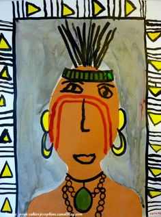 Native Americans art Thanksgiving Art Projects, Fall Art Projects, Classroom Art Projects, Art Classroom, American Indian Art, Native American Art, Native American Projects, Classe D'art, Pole Art