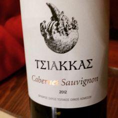 #TerroirCyprus #Tsiakkas #Winery #CabernetSauvignon #Troodos Mountain