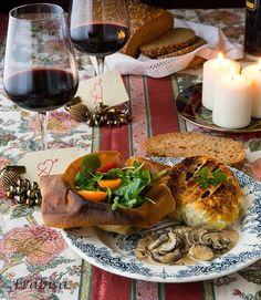 La cocina de Frabisa: Solomillo Wellington y Salsa de Setas.