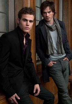 Besides Twilight, Vampire Diaries has some of the sexiest vampires ever.
