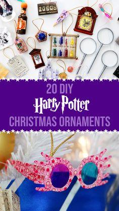 20 More DIY Harry Potter Christmas Ornaments - Karen Kavett