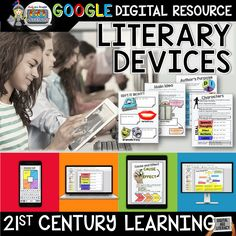 DIGITAL INTERACTIVE NOTEBOOK GOOGLE EDITION LITERARY DEVICES ($)