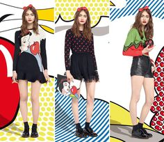 RED Valentino Fall/Winter 2014-2015 Collection  #NewYorkFashionWeek #fashionweek #NYFW
