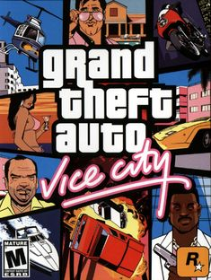 Ask many a GTA fan and 9 times out of they'll say that Vice City is their favourite of the Grand Theft Auto series. Arriving on the scene a year after GTA III, Vice [. Gta 5, Grand Theft Auto Games, Grand Theft Auto Series, Playstation 2, Xbox 360, Xbox Xbox, Tower Defense, Wii, Videogames