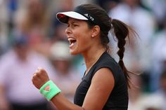 Ana Ivanovic Photos - 2015 French Open - Day One After a 1st set loss, Ana charges back with solid 2nd and 3rd set victories. Onto round two : )