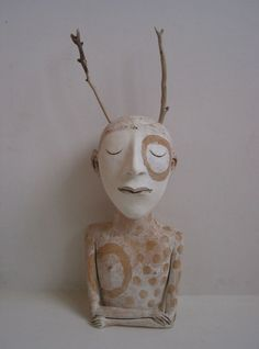 Sally Curry such focus Ceramic Pottery, Pottery Art, Ceramic Art, Human Sculpture, Sculpture Art, Ceramic Workshop, Art Corner, Ceramic Figures, Small Sculptures