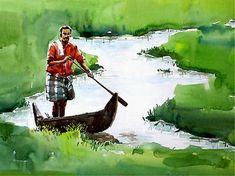 One of Sunil Linus De' works on display at Durbar Hall Art Gallery