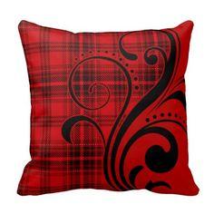 Plaid Flourish by Cheryl Daniels Navy Pillows, Designer Throw Pillows, Custom Pillows, Art Studios, Cheryl, Flourish, Decorating Your Home, Your Design, Lilac