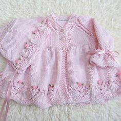 """Hand Knit Cotton Baby Set by jayceeoriginals on Etsy, $80.00 [   """"Hand stricken Baumwolle Baby Set von jayceeoriginals auf Etsy"""",   """"Bomiyo"""" ] # # #Cotton #Set, # #Knit #Cotton, # #Baby #Knnitting, # #Baby #Set, # #Luxury #Cotton, # #Soft #Luxury, # #Cotton #Babies, # #41cm #Length, # #Length #12"""