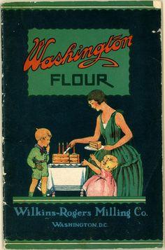 Washington Flour cookbook    Entire book here: library.duke.edu/digitalcollections/pdf/eaa_CK0078/