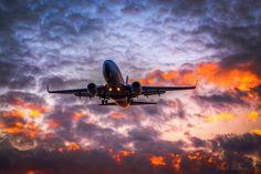 Night flight - Westjet 737