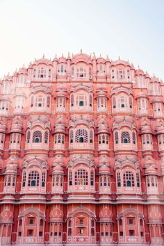 travel destinations dream How to explore the colourful city of Jaipur like a travel photographer. Here, outside the Hawa Mahal, an entirely pink building in India. The Places Youll Go, Places To See, Foto Banner, Cheap Places To Travel, Belle Villa, India Travel, Jaipur Travel, Travel Photographer, Land Scape