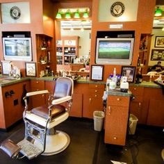 old fashioned barber shop Gallery