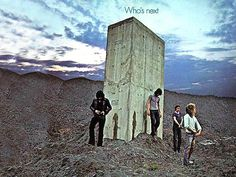https://flic.kr/p/sgAw3P | Best Album Art of All Time - Who's Next | The cover artwork shows a photograph, taken at Easington Colliery, of the band apparently having just urinated on a large concrete piling protruding from a slag heap. The decision to shoot the picture came from Entwistle and Moon discussing Stanley Kubrick and the film 2001: A Space Odyssey.  According to photographer Ethan Russell, most of the band members were unable to urinate, so rainwater was tipped from an empty film…