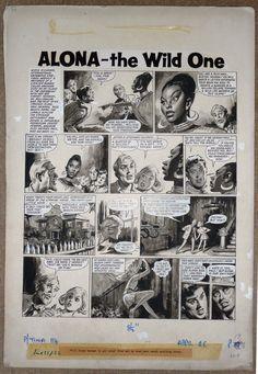 ALONA THE WILD ONE ART BY LESLIE OTWAY Princess Tina # 114 April 26 196X