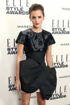 Emma Watson attends the ELLE Style Awards 2014