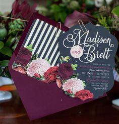 Beyond Gorgeous Wedding Invitation Ideas - MODwedding