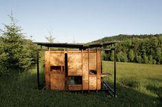 Een inspirerende hut in de wilde natuur - Roomed