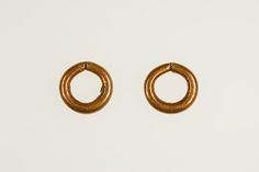Penannular Earring | Second Intermediate Period–Early New Kingdom | The Met