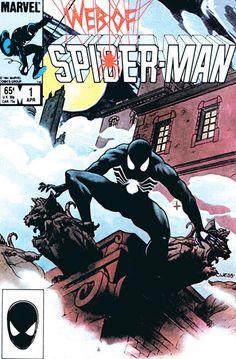 L'Uomo-Ragno con il costume nero: le copertine più belle di sempre (MarvelGallery - 2)