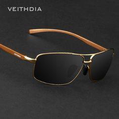 ba909202b0 VEITHDIA Brand Best Alloy Men s Sunglasses Polarized Lens Driving Eyewear  Accessories Driving Sun Glasses For Men