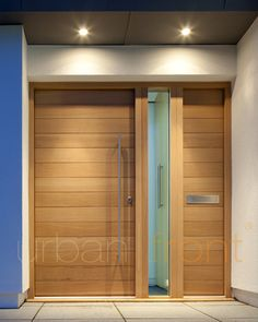 Urban Front - Contemporary front doors UK | configurations | door + 1 sidepanel + 1 sidelite