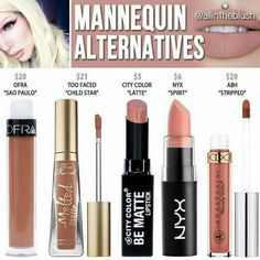 Jeffree star mannequin dupes
