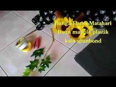 DIY sunflowers bouquet | Cara membungkus bunga matahari flanel - YouTube