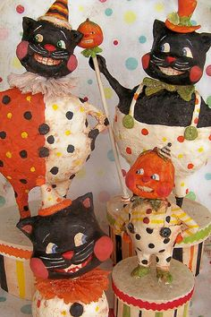 Vintage halloween by polka dot pixie