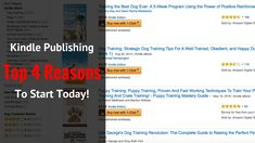 Kindle Publishing 2016 - Top 4 Reasons To Start Today And Make Passive Income With The Best Way To Make Money Online - The Lazy Way!
