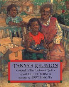 Tanya's Reunion by Valerie Flournoy http://www.amazon.de/dp/0803716044/ref=cm_sw_r_pi_dp_jOP-wb1MZ112R