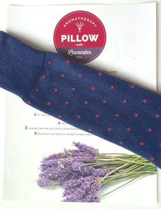DIY Frugal Aromatherapy Pillow and Heating Pad - My boys love theirs and had fun helping make it