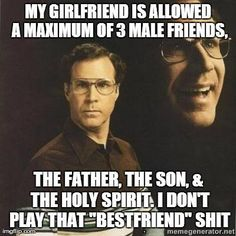 3 male friends