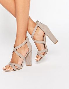 The perfect nude shoes from Miss KG