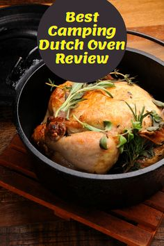 For the outdoor lovers like me, camping is always thrilling. But, to enjoy that thrill you must need to fill your stomach with some fuel and to make your fuel Soooo delicious, Camp Chef Deluxe Dutch Oven is always ready. Best Dutch Oven, Dutch Oven Recipes, Dutch Oven Camping, Camp Chef, Camping Meals, Tasty Dishes, Cooking Tips, Fill, Turkey
